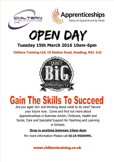 Open Day 2016 Poster